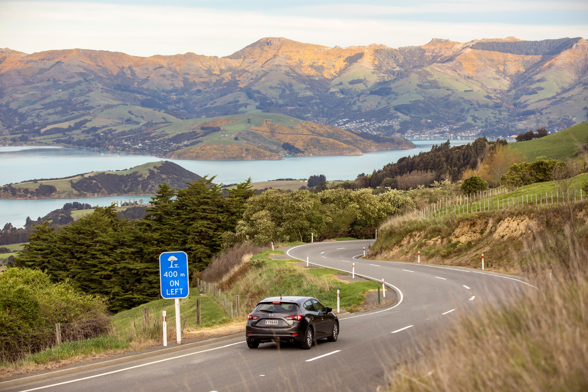 Akaroa, New Zealand - Photo by Graeme Murray